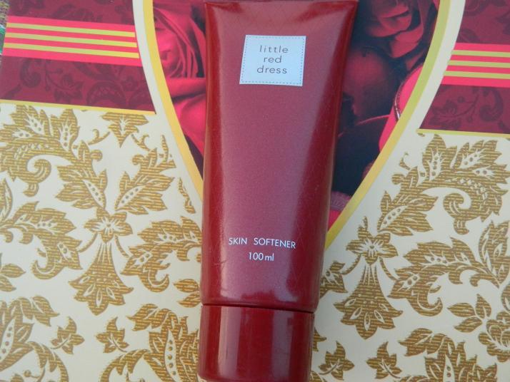 Avon Little Red Dress Skin Softener Review