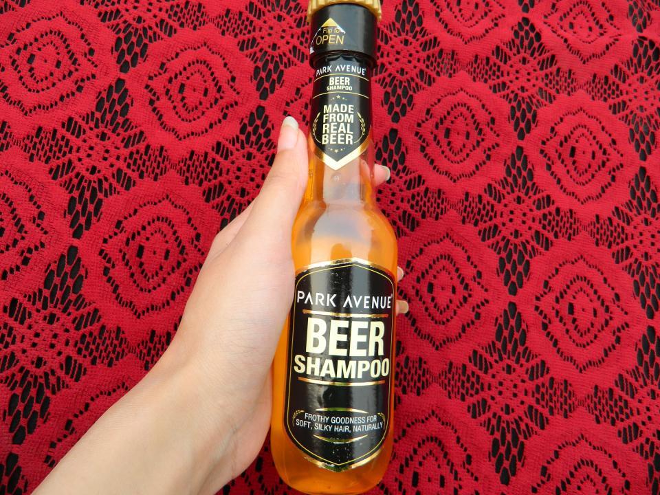 Park Avenue Beer Shampoo Review