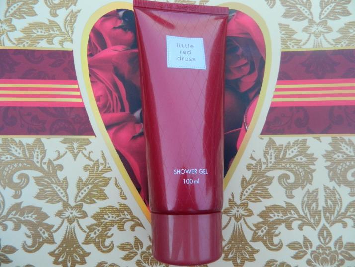 Avon Little Red Dress Shower Gel Review