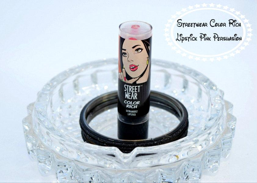 Streetwear Color Rich Lipstick Pink Persuasion Review