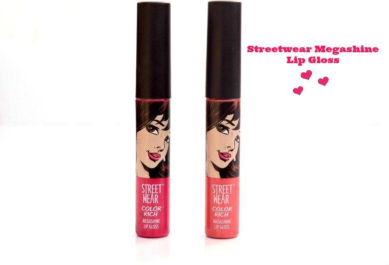 Streetwear Megashine Lip Gloss- Party Melon, Smitten by Pink