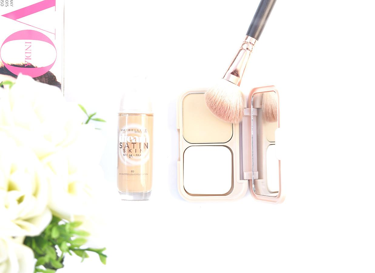 Got Dry Skin? Then You Gotta Try Maybelline Dream Satin Foundation and Two Way Cake!