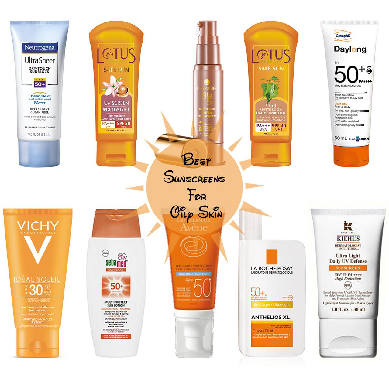 Best Sunscreens for Oily Skin in India!