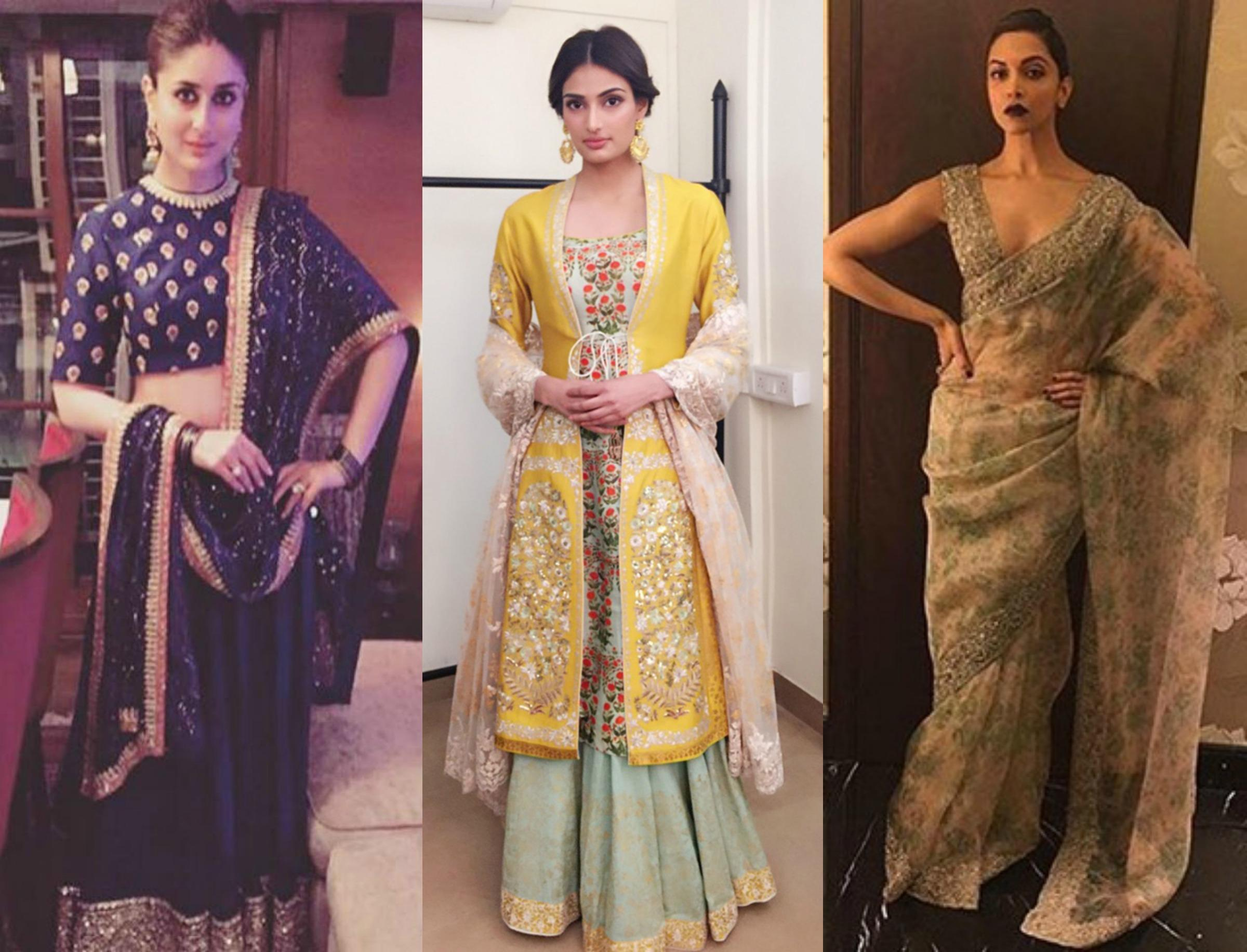 Diwali Outfit Inspiration From Top Bollywood Celebrities