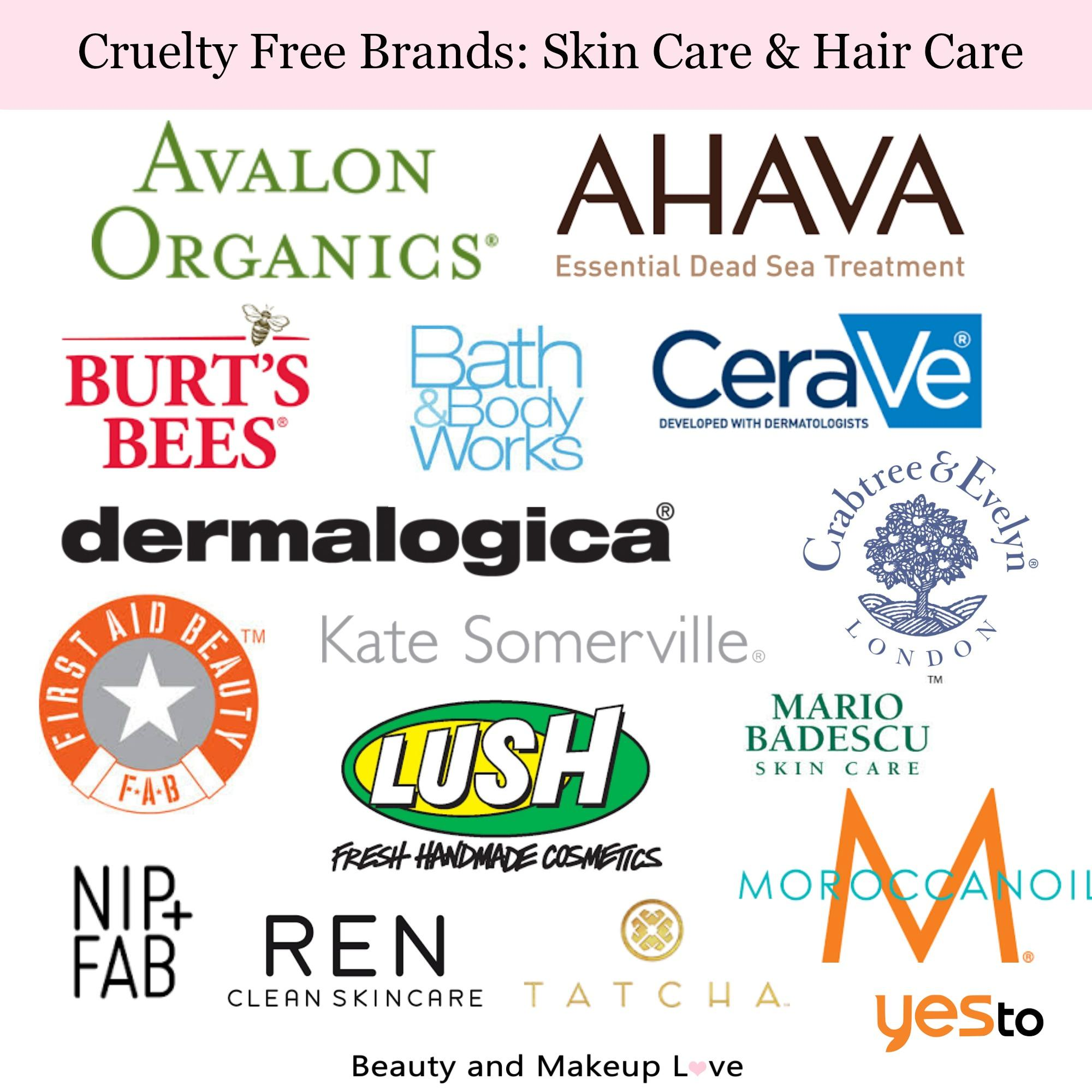 Cruelty Free Brands: Makeup, Skin Care & Hair Care!