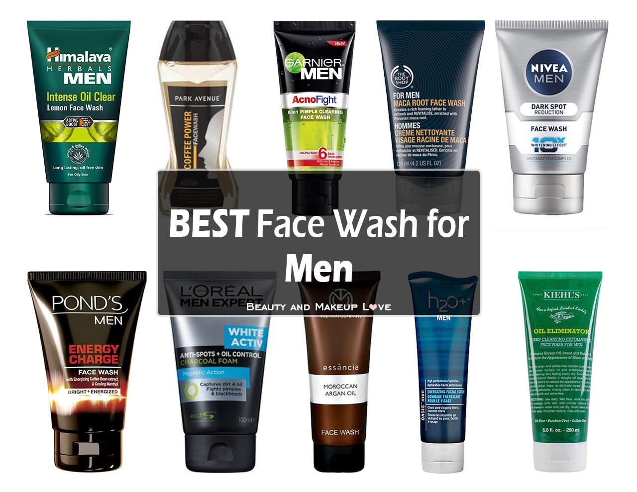 Best Face Wash for Men in India!