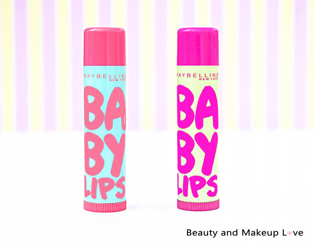 Maybelline Baby Lips Lip Balm – Watermelon Smooth and Lychee Addict Review