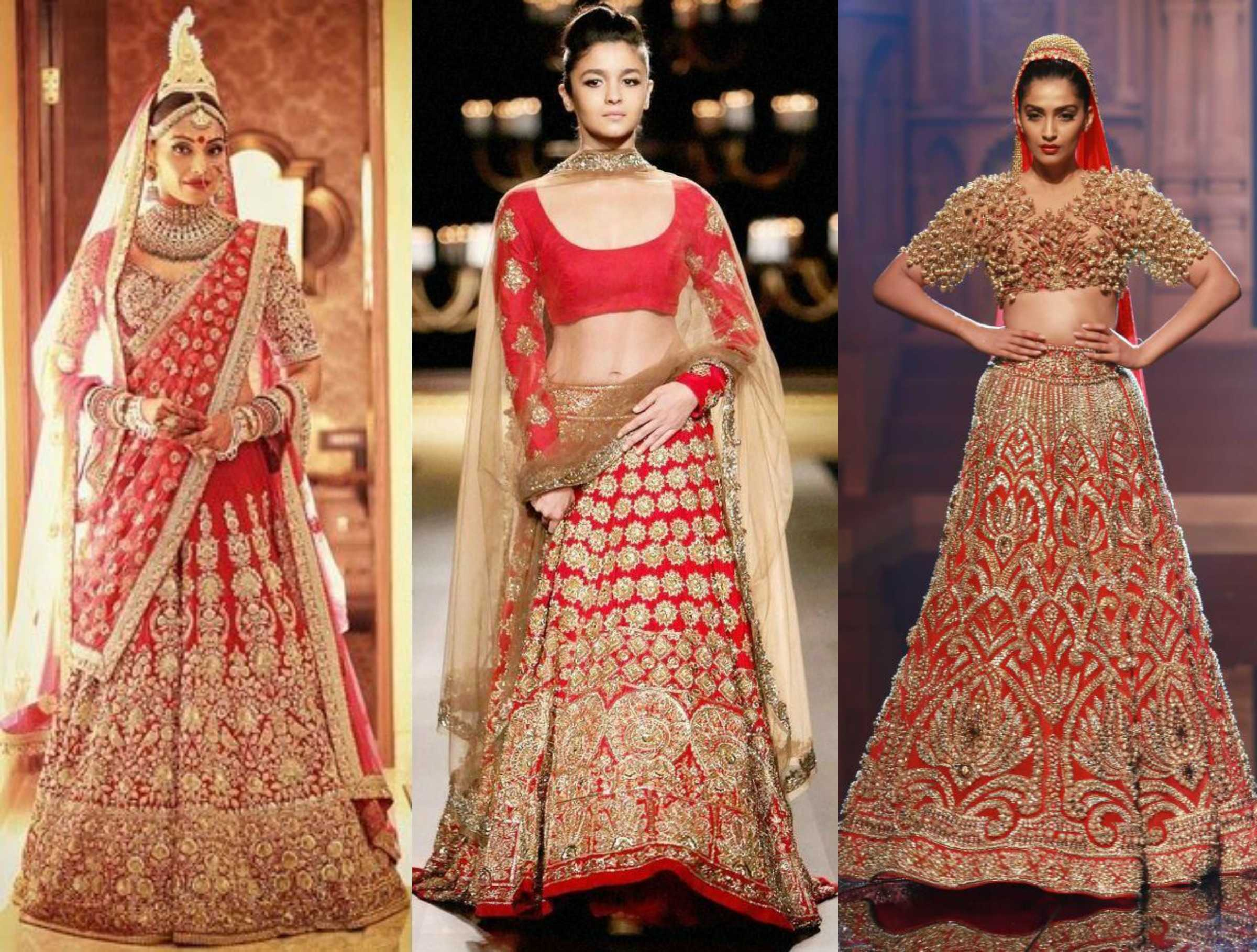 Top 10 Bridal Fashion Designers In India