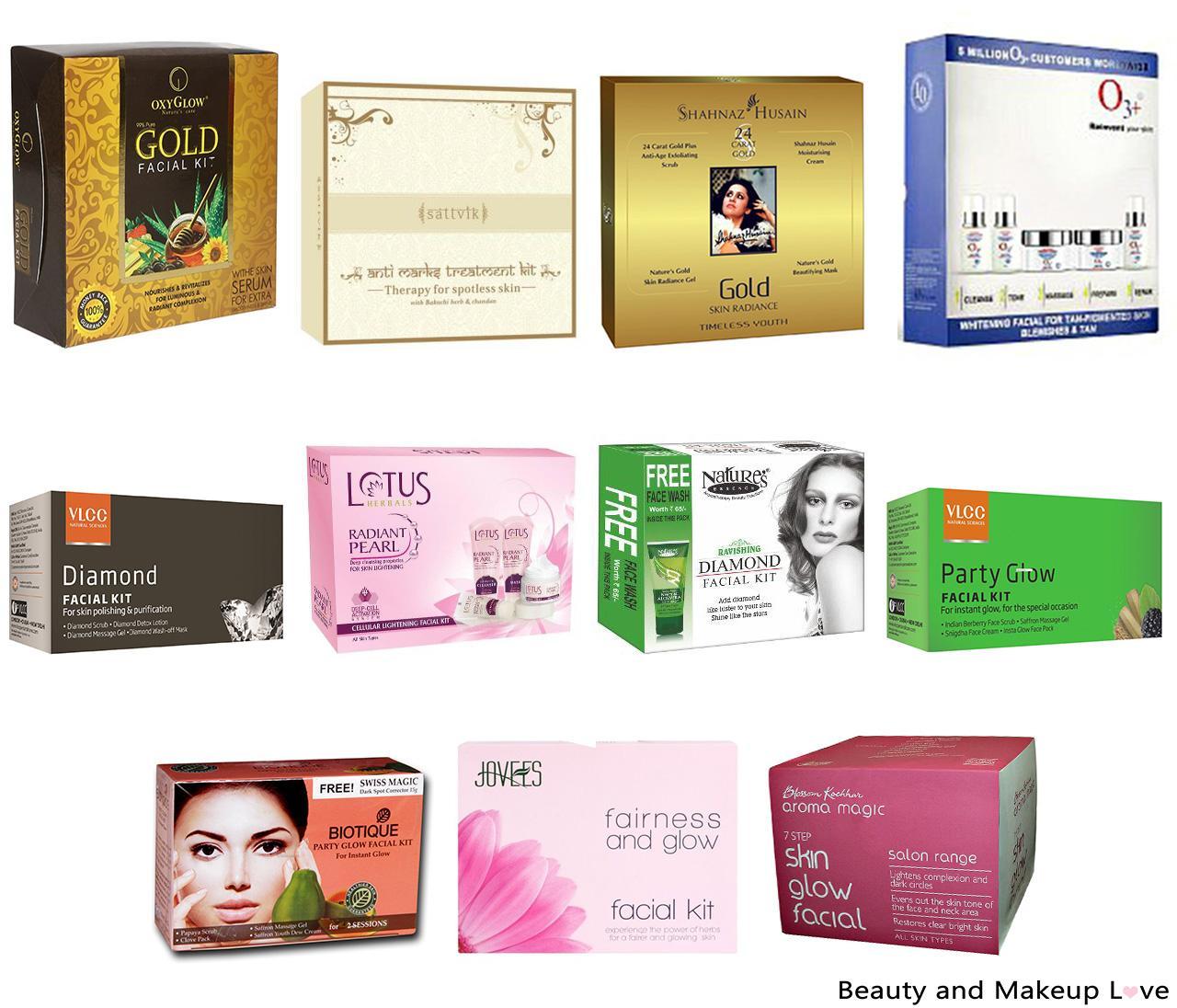 Top 11 Facial Kits in India
