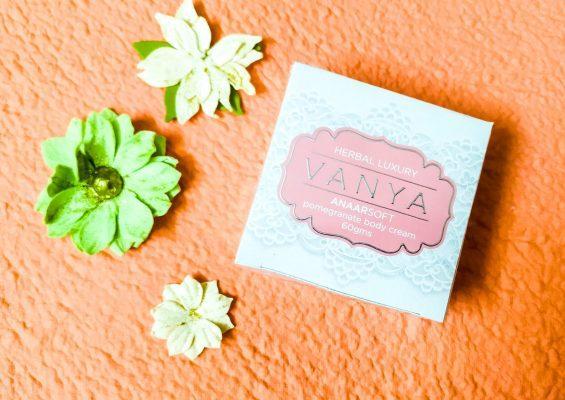 Vanya Herbal Anaarsoft Pomegranate Body Cream
